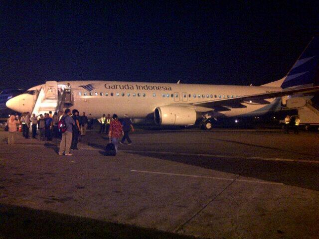 Garuda Prepare TO at Polonia